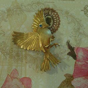 Bird in Flight Brooch